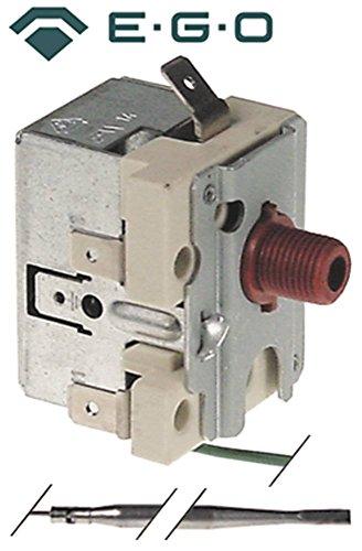 EGO Sicherheitsthermostat 56.10569.500 passend für Küppersbusch max. Temperatur 340°C 1-polig Fühler ø 4mm x 100mm 16A