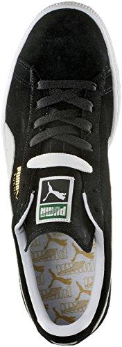 Puma Suede Classic Sneakers Herrenschuhe schwarz/weiß