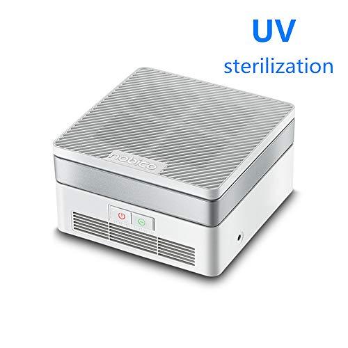 MRDEER Luftreiniger Negatives Ion Air Purifier mit HEPA & Aktivkohlefilter, 6-Stufen-Reinigung, UV-Entkeimung, Sterilisation Desodorierung für Allergien, Zuhause, Haustiere Dander, Raucher