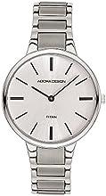 Comprar Reloj mujer RELOJ DE pulsera analógico reloj Titanio plateado Adora Diseño Style Icon ad8950