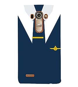 Air force Naval Officer Dress 3D Hard Polycarbonate Designer Back Case Cover for LG G4 :: LG G4 H815
