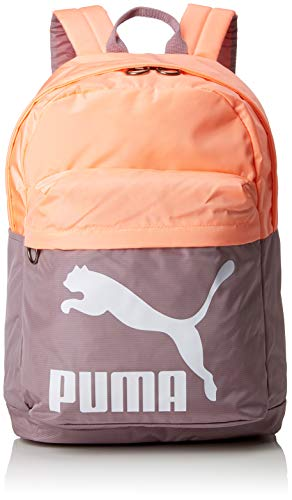 Puma Erwachsene Originals Backpack Rucksack, Elderberry-Bright Peach, OSFA