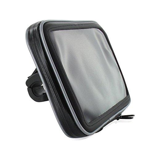 """Motorrad Fahrrad Bike Set Halterung Tasche ohne Sonnendach 7"""" für Tablet Phablet Navi Geräte bis max. 198 x 134 mm"""
