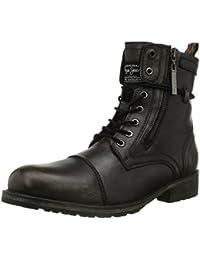 Pepe Jeans London MELTING ZIPPER HERITAGE Herren Combat Boots