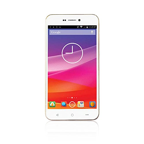 "YUNTAB H501 - IPS 8Core MTK6592 3G Smartphone libre (pantalla de 5"", Android 4.4 KitKat 8Core 1.3 GHz Mobile Celular con 1 SIM y 1G RAM + 8G ROM), Blanco"