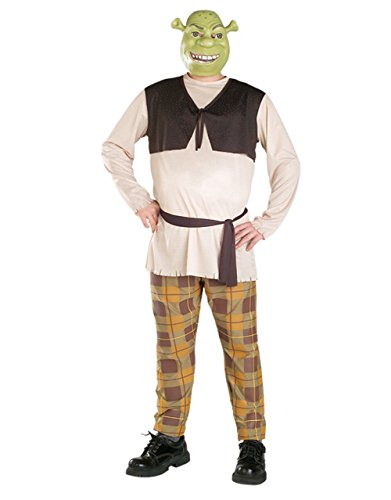 Shrek Costume, Mens Ogre Outfit, Standard, CHEST 44