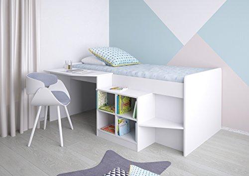 Etagenbett Schreibtisch : ᑕ❶ᑐ hochbett mit schreibtisch ▻ bestseller für ihr