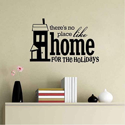 ie zu Hause für die Parteien PVC Wandaufkleber Home Decor 76 * 49,5 cm ()