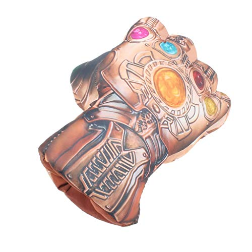 Avengers 3 Tyrants Unlimited PP Baumwolle gefüllte Handschuhe Plüschtiere staunen um kreative Handschuhe COS Requisiten 20 * 25 cm (Farbe : B-unlimited gloves (right ()