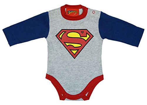 Superman Baby Body Größe 68, Farbe (Body Superman)