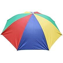 Gorra Plegable Para Paraguas Con Sombrero Para El Sol AIMEE7 Gorra De Sol Multicolor Plegable