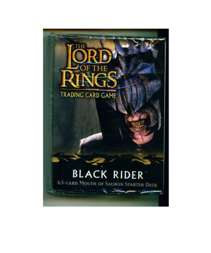 Lord of the Rings Card Game Theme Starter Deck Black Rider Mouth of Sauron x - Deck Ring