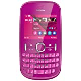 Nokia Asha 201 SIM Free Mobile Phone - Pink (discontinued by manufacturer)