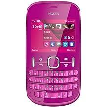 "Nokia Asha 201 2.4"" 105g Pink - Mobile Phones (Bar, Single SIM, 6.1 cm (2.4""), 2 MP, 1430 mAh, Pink)"