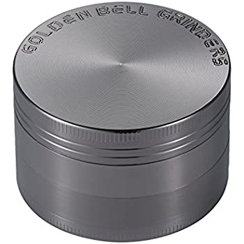 "Nickel Noir 5cm 2/"" LIHAO Grinder Garrantie /à Vie Grinder en Zinc Alliage en 4 pi/èces"