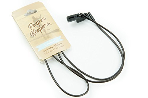 peeper-keepers-eyeglass-retainer-chain-holder-brown-round-leather-1-pack-by-peeper-keepers