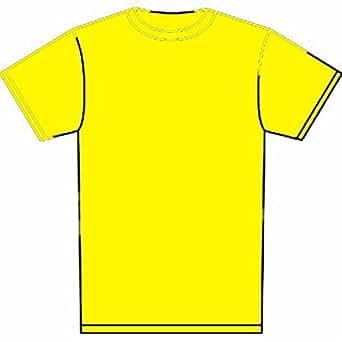 Boys & Girls Children Premium T Shirts Size Age 2 to 13 Years SCHOOL LEISURE (AGE 3 TO 4 YEARS, YELLOW)