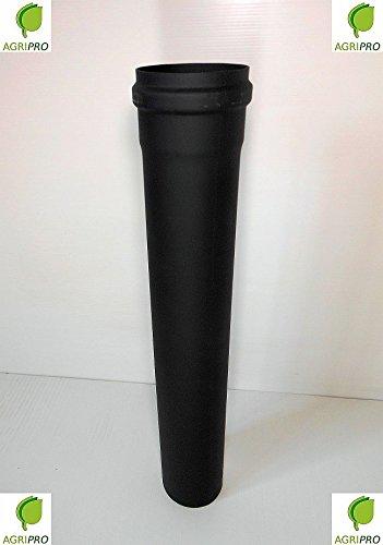 Tubo scarico fumi Diametro 80 MT 2 per stufa a pellet canna (Fumi Di Scarico)