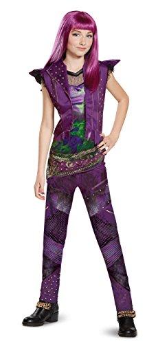 2 Classic Mal Girl's Fancy Dress Costume Small (Mal Kostüm Für Kinder)