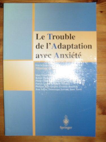 Le Trouble de l'Adaptation avec Anxiété