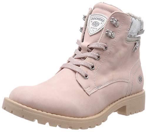 Dockers by Gerli Damen 43FA301 Combat Boots, Pink (Rosa 760), 37 EU