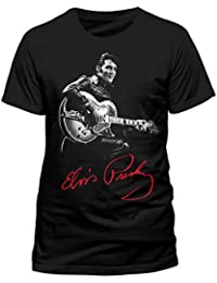CID Men's Elvis Presley-Signature T-Shirt