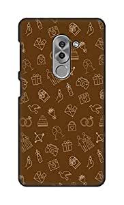 ZAPCASE Printed Back Cover for Huawei Honor 6x