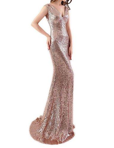 JYDress - Robe - Mermaid - Femme beige rose gold Doré
