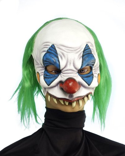 9 Scary Clown Maske (Scary Clown Girl Kostüme)