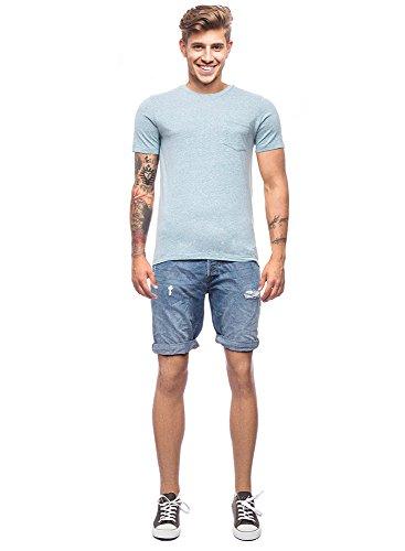 Jack & Jones Herren T-Shirt Grün (lily pad)