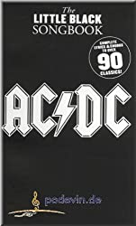 AC/DC - The Little Black Songbook - Gitarre Akkorde