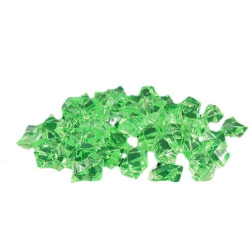 Jardin Kunstkristalle für Aquarien, 60 Stück, Green, grün