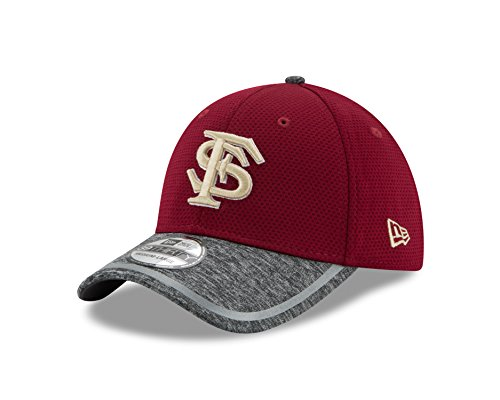 683e24f59377f New Era NCAA Florida State Seminoles Adult NE16 Training 39THIRTY Stretch  Fit Cap