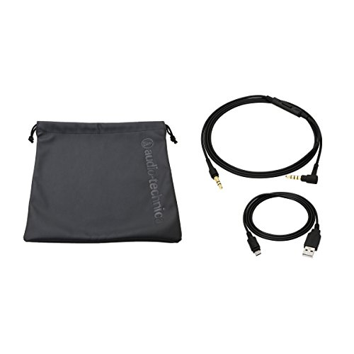 Audio-Technica ATH-SR5BTBK Kabelloser, Ohraufliegender High-Resolution Kopfhörer schwarz - 5