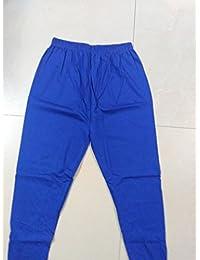 Blue Cotton Legging Ethnic Bottoms (Size: XL)