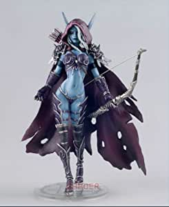 World of Warcraft Sylvanas 14.5cm Figure Windrunner Forsaken Queen Resin Limited