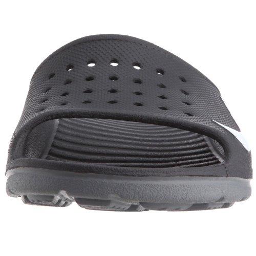 Nike Solarsoft Slide Herren Turnschuhe Black White