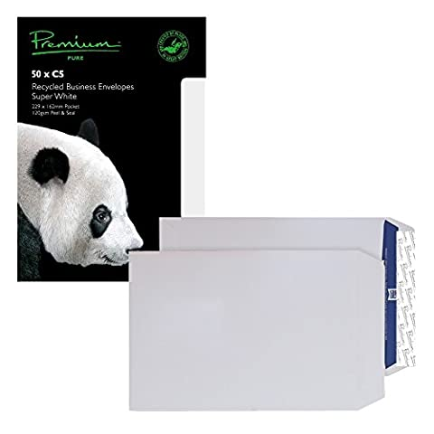 Premium Pure C5 120 gsm Pocket Peel and Seal Envelope