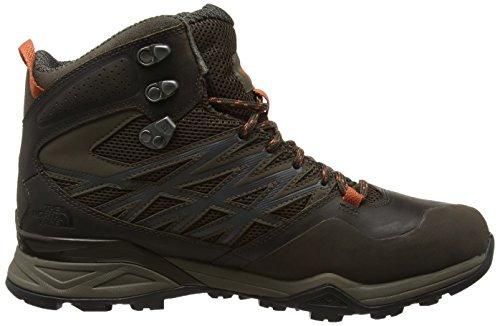 The North Face T0cdf5grw, Chaussures de Randonnée Hautes Homme Marron (Morel Brown/Orange Rust _ Grw)