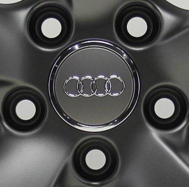 Original Audi Nabendeckel Felgen Radzierkappe grau 8T0601170A NEU