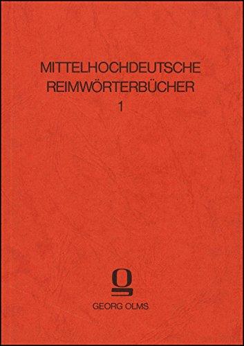 Reimwörterbuch zum Guoten Gêrhart Rudolfs von Ems (Mittelhochdeutsche Reimwörterbücher)