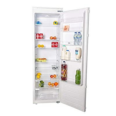 SIA RFI106 319L White Integrated Built In Tall Larder Fridge With Auto Defrost