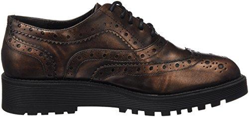 Xti Zapato Sra Metalizado Bronce ., flâneurs femme Bronze