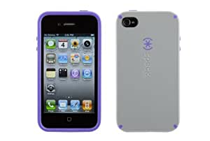 Speck iPhone 4g, 4gs CandyShelPaleMoon Gray (Light Gray/