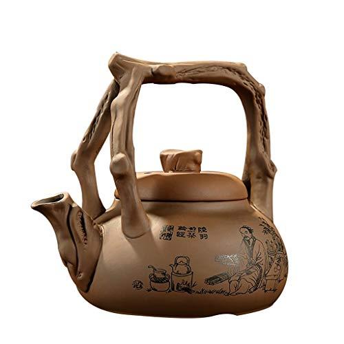 Purple Sand Rice Stone Kettle Ceramic Boiled Teapot Electric Ceramic Stove Kung Fu Teapot Tea Maker Quart Flame Top