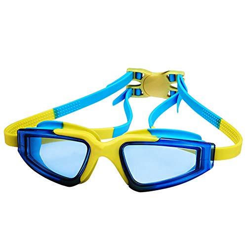 WJQ Kinderschwimmbrille - Bequemes Silikon ist leicht genug, kein Druck One-Touch-Two-Pressure - Sehr gut geeignet zum Schutz vor Hitze und Sonnenlicht