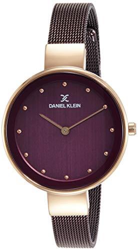 Daniel Klein Analog Red Dial Women's Watch-DK11854-7