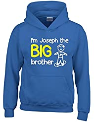 Personalised I'm The Big Brother Boys Hoodie