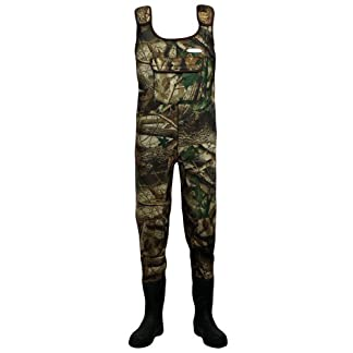 Dirt Boot Camo Neoprene Chest Waders 100% Waterproof Coarse Fishing Muck Wader 1