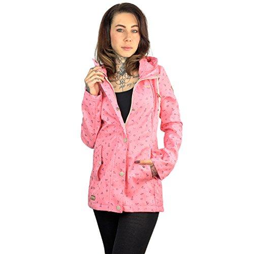 Maggie B Jacke Größe: M Farbe: Pink